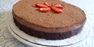 [夏日免烤箱系列]巧克力瑪士卡彭起士蛋糕!