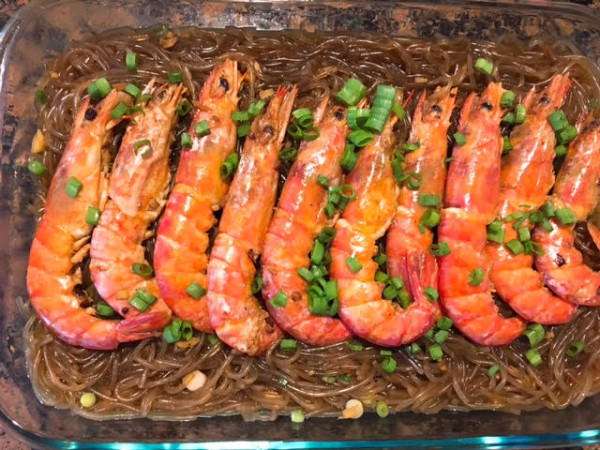 鮮蝦粉絲煲2